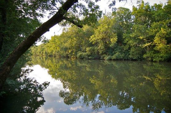 The Stones River in Nashville, Tenn. (Photo by Casey Fleser/flickr)