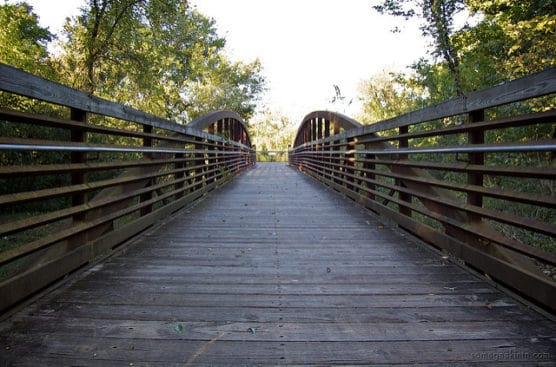 A bridge along the Stones River Greenway. (Photo by Casey Fleser/flickr)