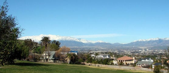 A view of San Bernardino from Bryn Mahr, just outside Loma Linda. (Courtesy Don Graham/flickr)