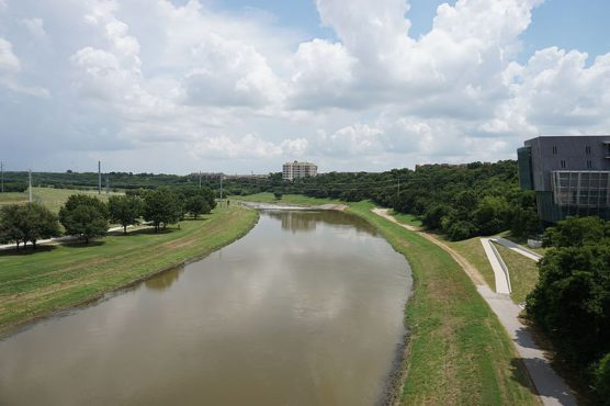 the trinity river and trails in fort worth texas photo by wikimedia - Halloween In Fort Worth