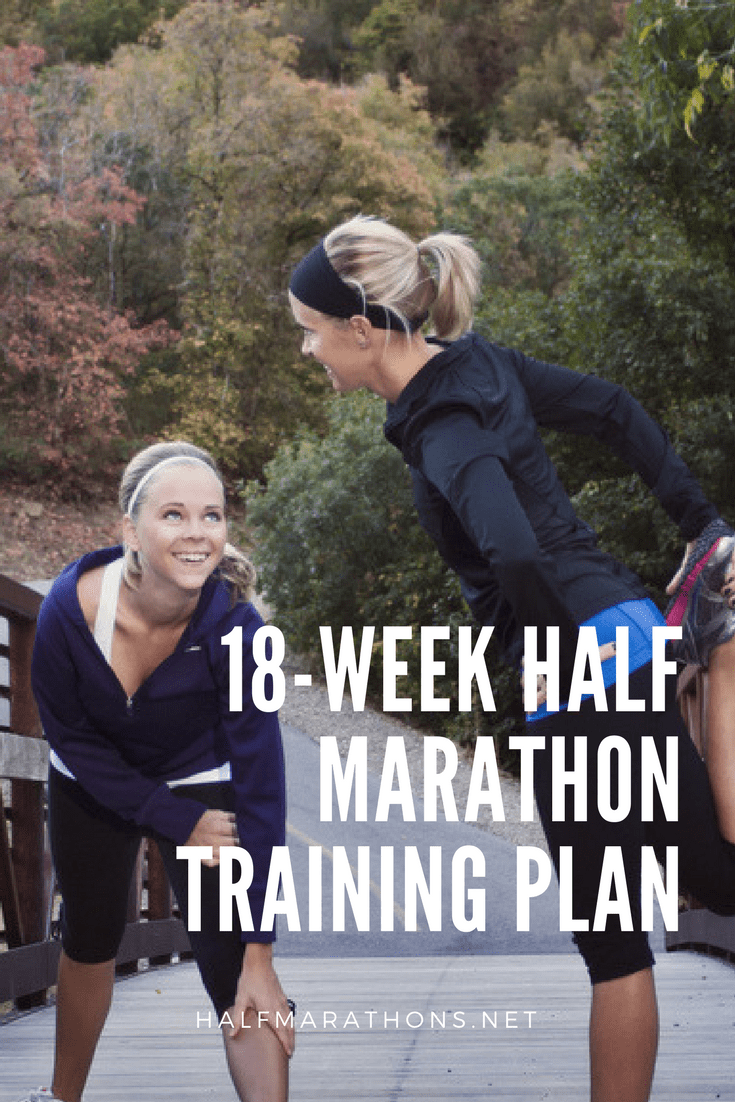 Designed for beginners and even experienced runners who wish to take extra time with their training, this 18-week training plan allows you to run four days per week and achieve your long run gains in a more gradual manner.