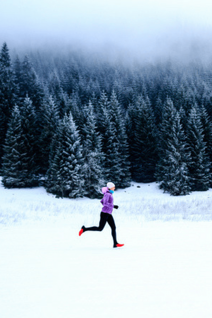 You can do it, but you gotta stay safe. Here's how to run in cold weather and have a great run.