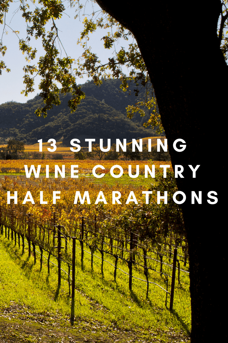 From Oregon to Napa Valley, Calif., all the way to the vineyards of northern Virginia, half marathons where you can run some of the USA's best-loved wineries.