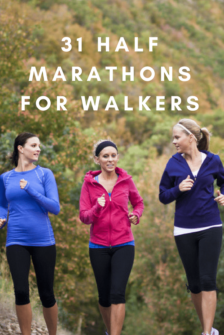When you're ready to take it slower than a runner would, these walker-friendly half marathons could be exactly what you're looking for.