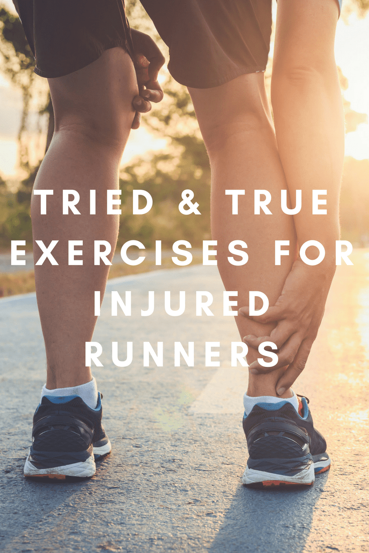 Runners put a lot of stress and strain on their feet and legs so it's no surprise that many find themselves injured. But it's easy to get frustrated without the outlet of aerobic exercise, and you may be forced to turn to alternative means to sweat.