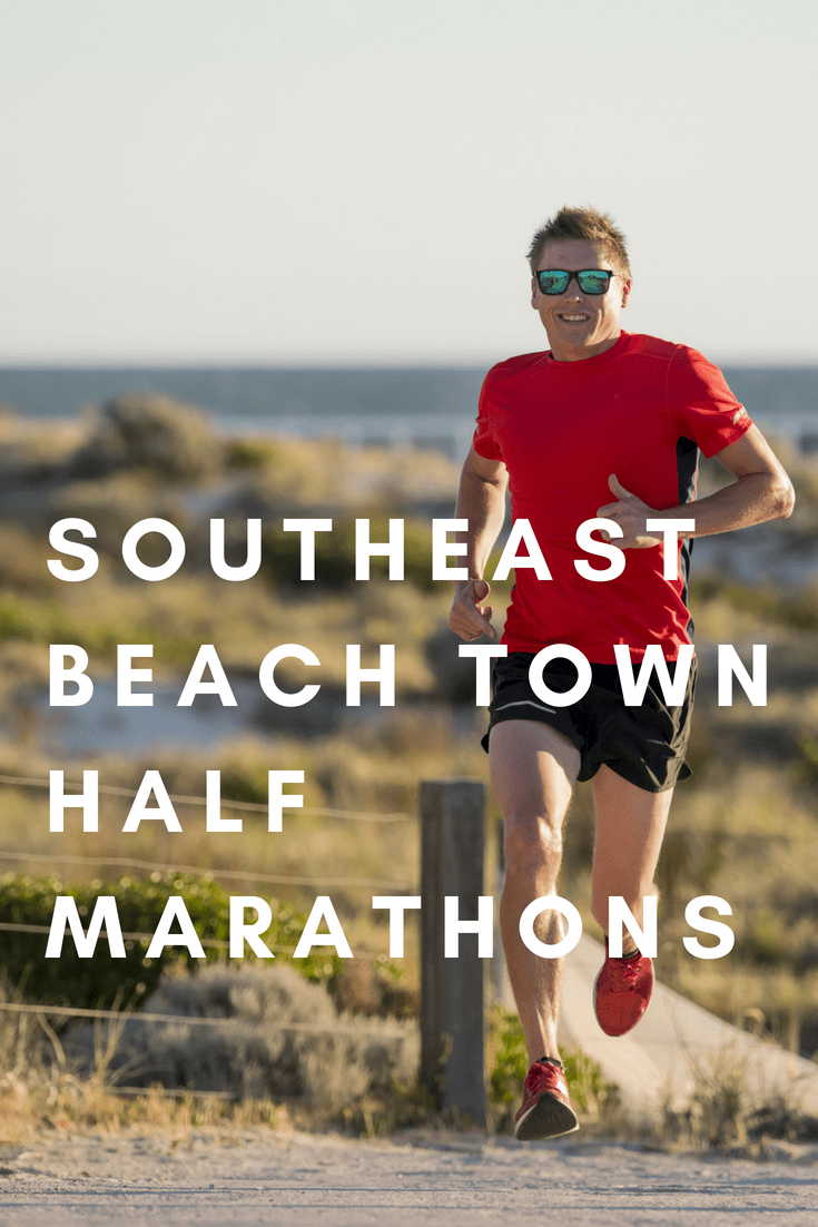 Want to run a half marathon where you can go for a dip in the ocean after you cross the finish line?
