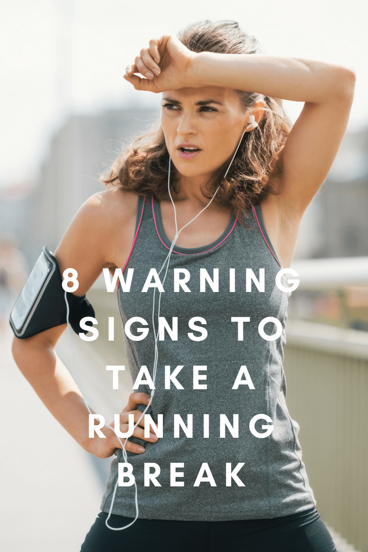 If you're not motivated to run more than a week or so, it's time to pay attention. Running through small aches, pains or exhaustion won't make you a hero.