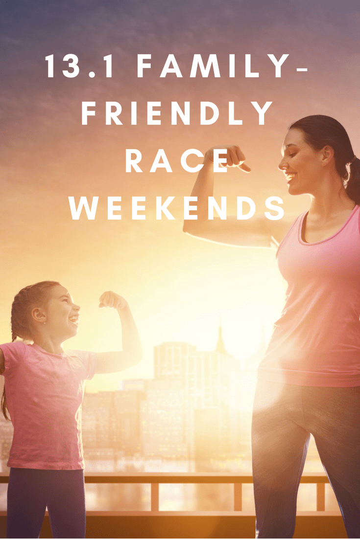 Looking for a race where you can bring along your brood? Here's a list of marathon, half marathon, 10K, 5K & fun runs with something for everyone.