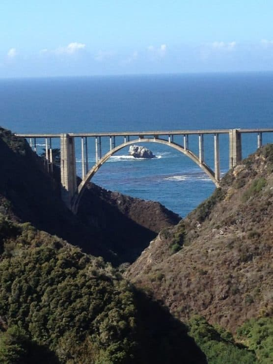 The Bixby Bridge in Big Sur, Calif., where the Big Sur Trail Race is run. (Courtesy Enviro Sports)
