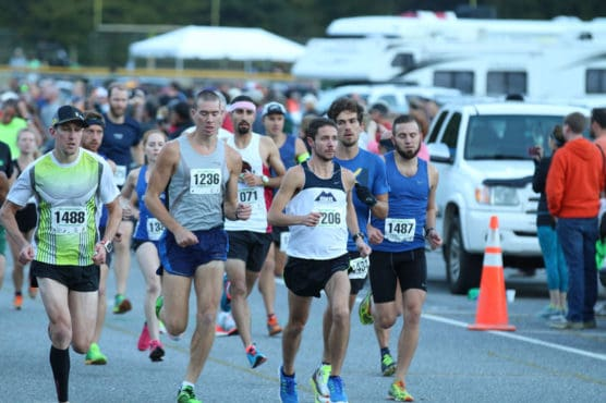 Cherokee Harvest Half Marathon in Cherokee, North Carolina