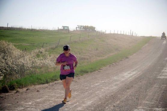 Rural Route 13.1 Half Marathon in Esbon, Kansas
