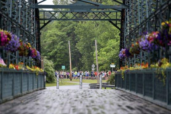 Amica Iron Horse Half Marathon in Simsbury, Connecticut