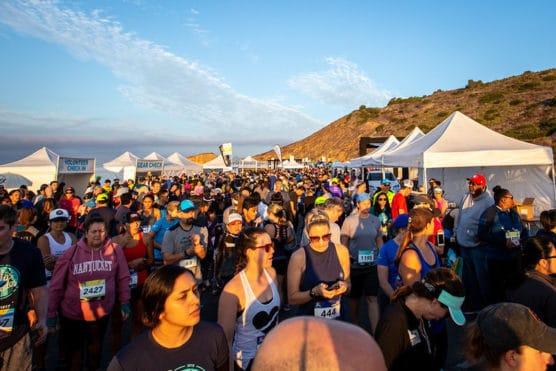 Lexus LaceUp Palos Verdes Half Marathon in Rancho Palos Verdes, California