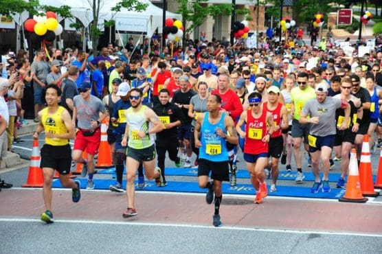 Maryland Half Marathon & 5K in Fulton, Maryland
