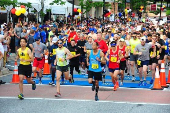 Maryland Half Marathon & 5K in Fulton, Maryland