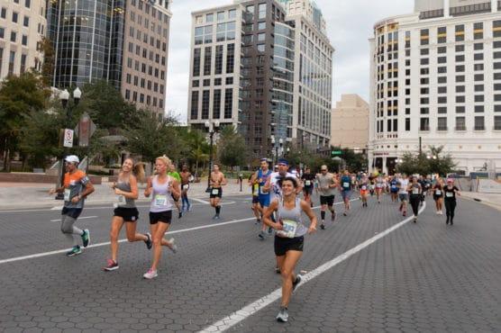 OUC Orlando Half Marathon in Orlando, Florida