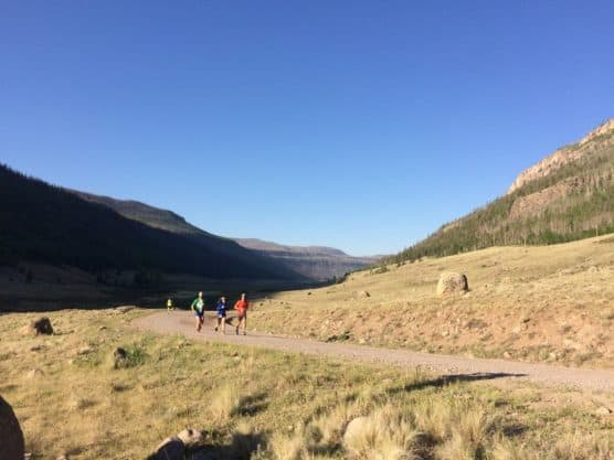 Runoff Runoff Half Marathon in Creede, Colorado