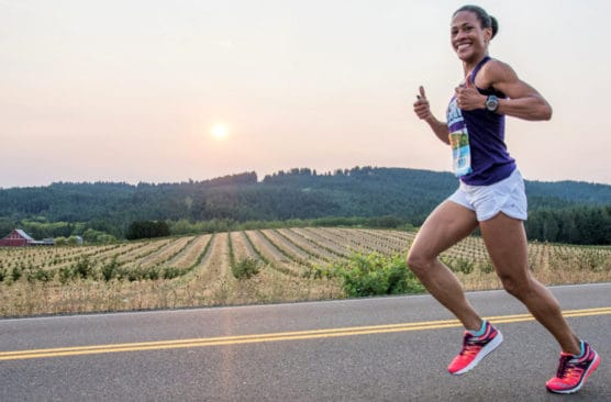 Oregon Wine Country Half Marathon in Carlton, OR